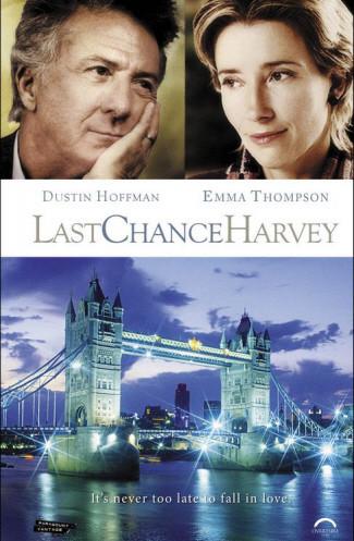 Póster de 'Last Chance Harvey', con Dustin Hoffman y Emma Thompson