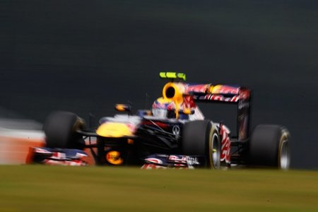 GP de Alemania F1 2011: clasificación con la huella de Mark Webber