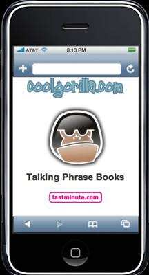 iPhone Translator, guía de frases en diferentes idiomas