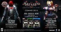Capucha Roja tendrá su propia historia en Batman: Arkham Knight