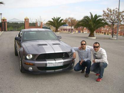 SandMan y el Shelby Mustang GT500