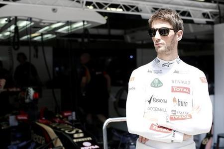 Romain Grosjean recomienda a Sergio Pérez que se olvide del incidente en Canadá