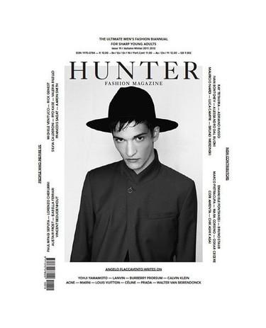 Portada de 'Hunter' para Dior Homme