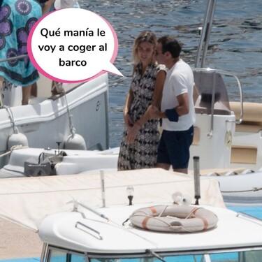 ¡Llega Toreroman! Ana Soria se hostia en un barco y Enrique Ponce va al rescate: sí, hay fotos del momento