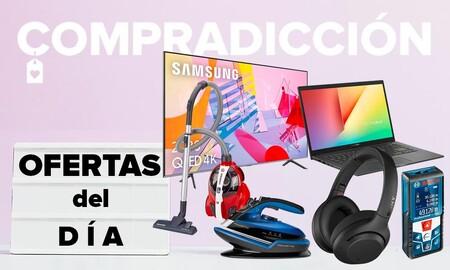 Ofertas del día en Amazon: smart TVs LG y Samsung, portátiles ASUS, auriculares Sony y Jabra o herramientas Bosch a precios rebajados