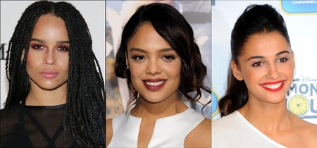 Zoe Kravitz, Tessa Thompson y Naomi Scott