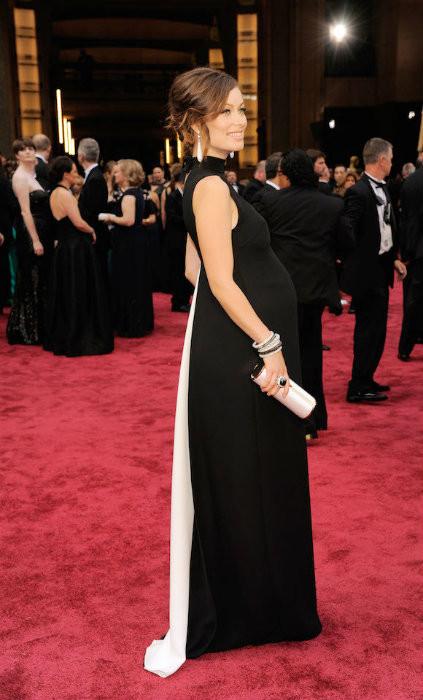 Marchando una de embarazadas en la alfombra roja de los Oscars 2014