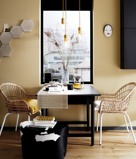 Ikea silla mimbre