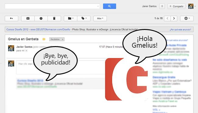Gmelius para Chrome