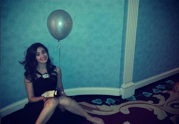 Las famosas de fiesta en Nochevieja 2013