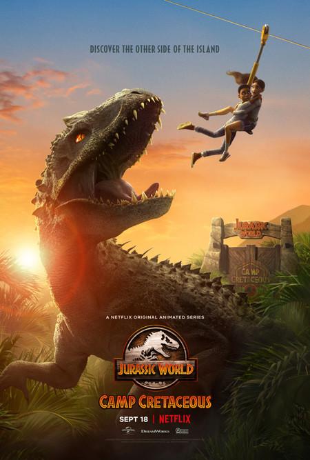 Jurassic World Camp Cretaceous Key Art Poster
