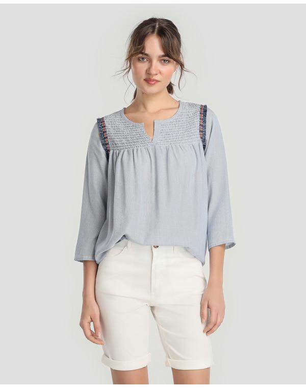 Foto de Pantalones blancos en moda UNIT (1/4)