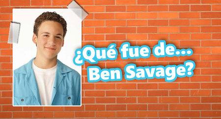 ¿Qué fue de... Ben Savage, de 'Yo y el mundo'?
