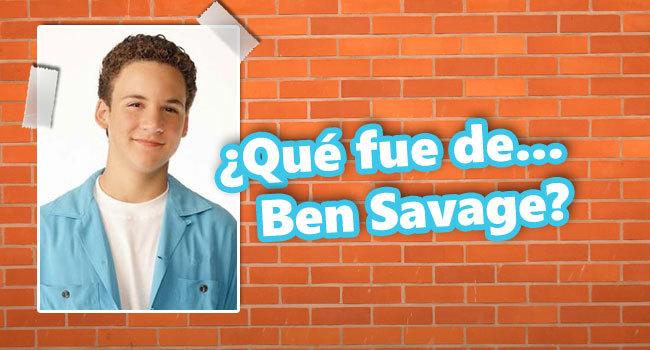 Que fue de Ben Savage