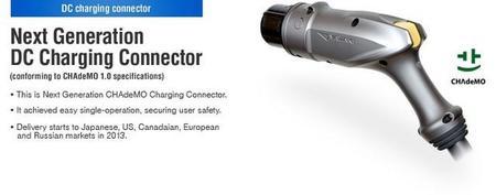 Llega la versión 2.0 del conector CHAdeMO