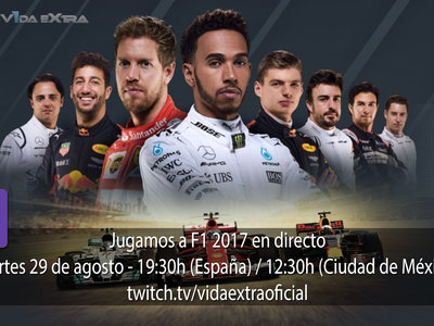 Jugamos en directo a F1 2017 a las 19.30h (las 12.30h en Ciudad de México) [Finalizado]