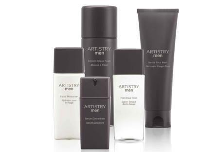 Artistry lanza nueva línea para el cuidado de la piel masculina