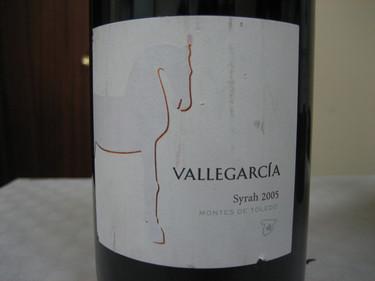 Vallegarcía syrah 2005