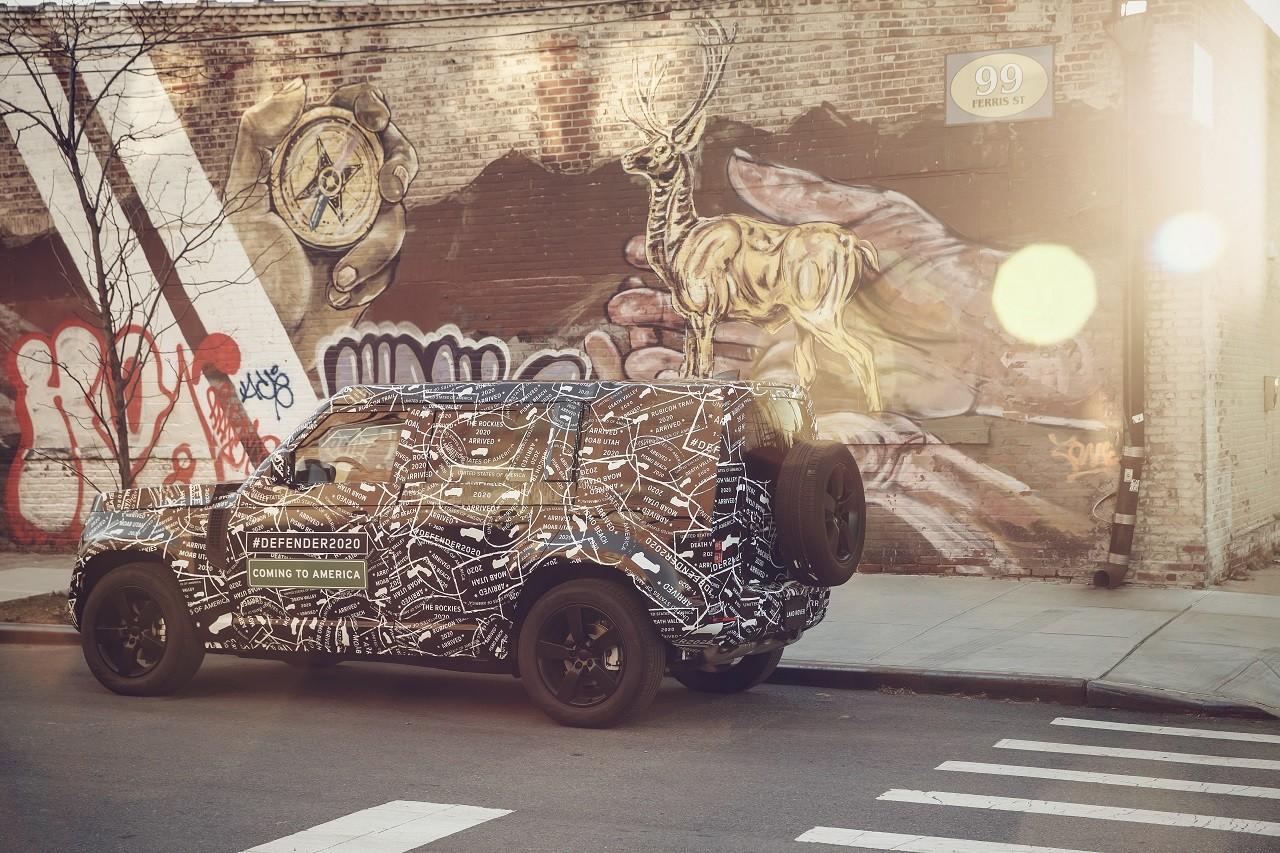 Foto de Land Rover Defender 2020 primeras fotos oficiales (10/24)
