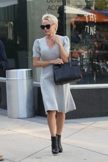 ¡Sorpresa! Pamela Anderson tiene estilo