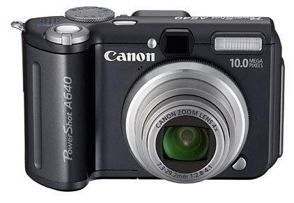 Canon PowerShot A640 con 10 megapíxeles
