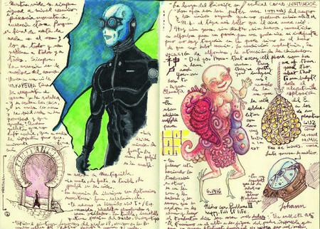Guillermo Del Toro cuadernos 2