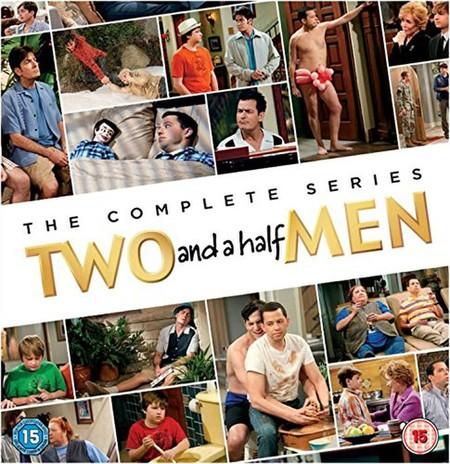 La serie completa Dos Hombres y Medio, en DVD, por 67,25 euros