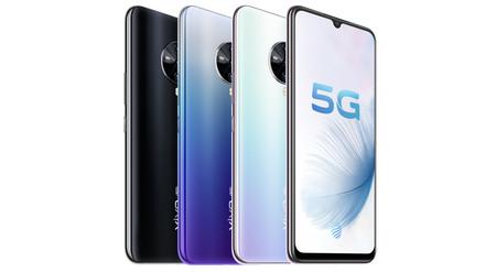 Vivo S6 5G: el nuevo terminal 5G de la marca china apuesta por el Exynos 980 de Samsung y cuádruple cámara trasera