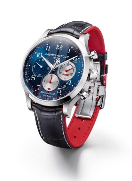 Baume & Mercier y Shelby Cobra colaboran en dos relojes de edición limitada