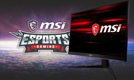 Este monitor gaming con unas excelentes prestaciones lleva una rebaja de 50 euros en Amazon: MSI Optix G241 a 199,99 euros