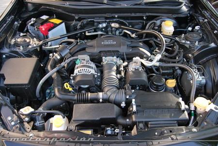 Motor del Toyota GT 86