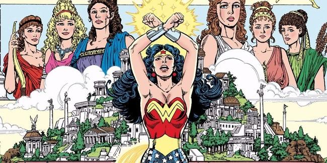 Wonder Woman Perez 1