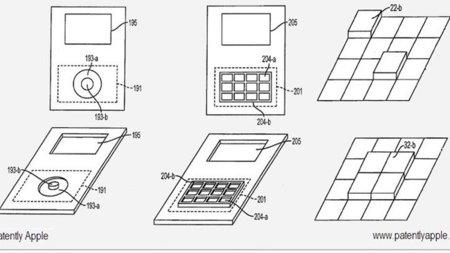 Apple patenta un dispositivo cuya forma y botones pueden cambiar