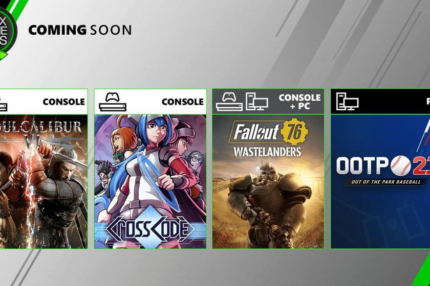 SoulCalibur VI y Fallout 76 entre los nuevos juegos que se unirán a Xbox Game Pass en julio
