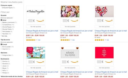 Amazon Es Amor E Mail Cheques Regalo