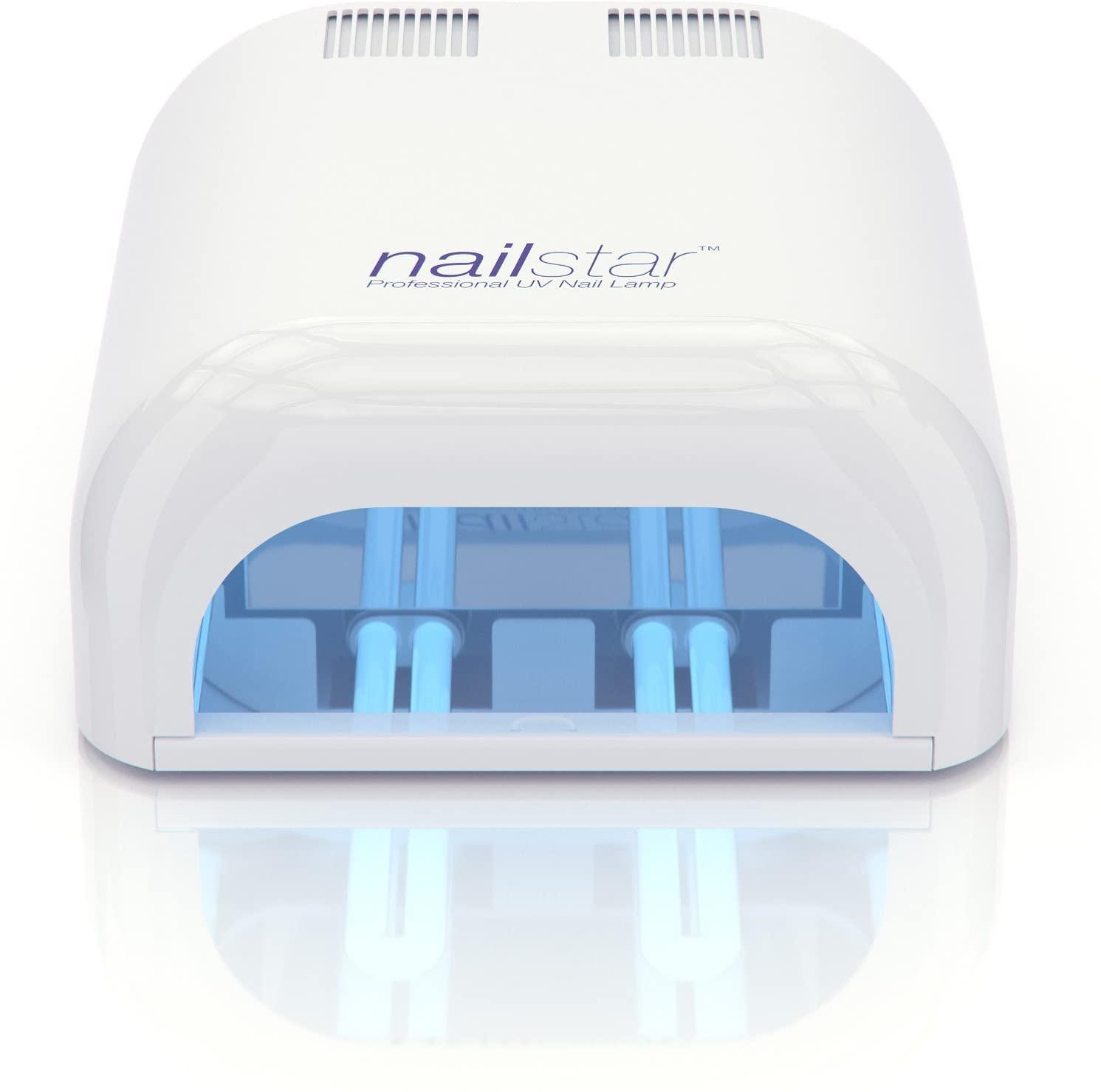 NailStar Lámpara UV Profesional Seca Esmalte de Uñas (36 W)