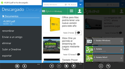 UC Browser para Windows Phone se actualiza con descargas en la tarjeta SD y soporte Bluetooth