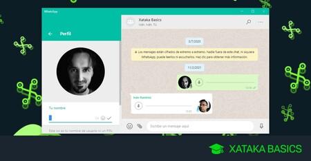 Cómo poner tu nombre en blanco en WhatsApp para que no aparezca ninguno