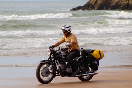 El Sahara en moto histórica. Preámbulo.