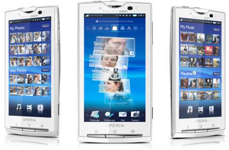 Actualización para Sony Ericsson Xperia X10 disponible en sucesivos días