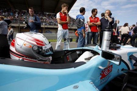 Dani Juncadella probó el martes un coche del DTM