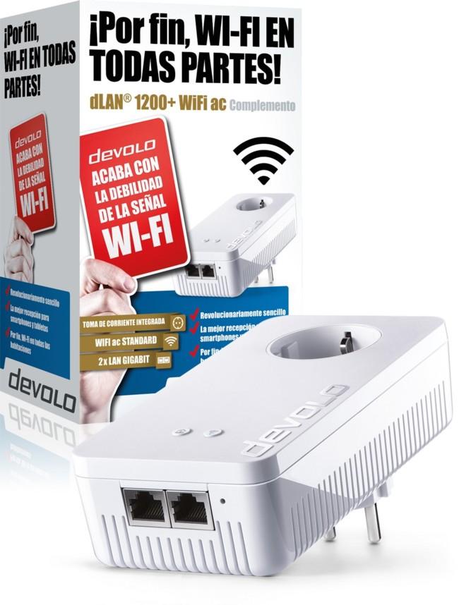 Dlan 1200 Wifi Ac Packshot Single Adapter Xl