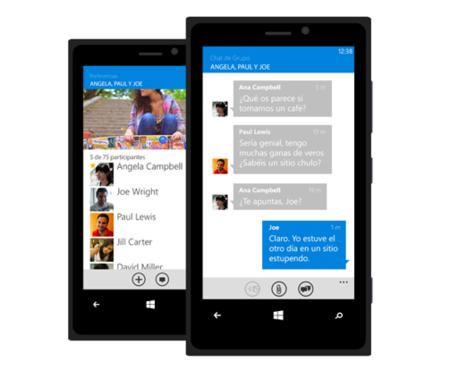 Tuenti actualiza su aplicación para Windows Phone con chats de grupo
