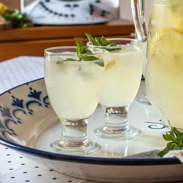 Limonada casera, receta con Thermomix para hidratarse y refrescarse en verano