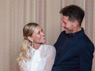 Carla Pereyra se casa con el Cholo Simeone con un exquisito look firmado por Dior en Buenos Aires