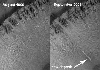 Agua en Marte 1