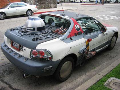 Cosas de frikis: Honda CR-X del Sol X-Wing Edition