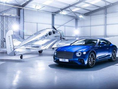 El nuevo Bentley Continental GT bebe del diseño atemporal de un avión de lujo de los años 30: el Spartan Executive
