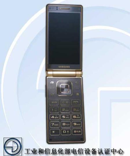 Samsung Galaxy Golden 2, un teléfono tipo concha con especificaciones de última generación