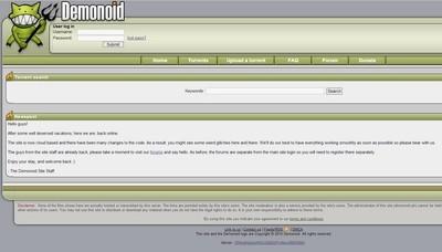 Google bloquea a Demonoid en los resultados de su buscador